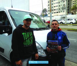 Eduardo e Leandro entregam em toda Grande São Paulo