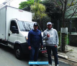 Bruno Leandro de Souza Cosmo, 30, e Wendel Luiz da Costa Lima, 25 anos, são funcionários