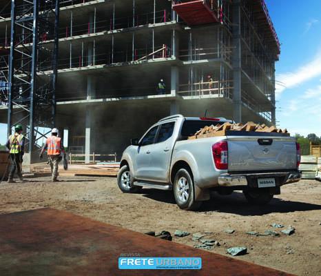 Nissan Frontier: mais trabalho, muito mais mobilidade