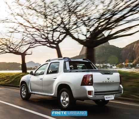 Picape Renault Oroch: versatilidade e novo motor