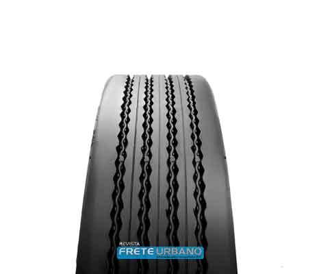 Recapagem permite reaproveitamento do pneu de carga usado