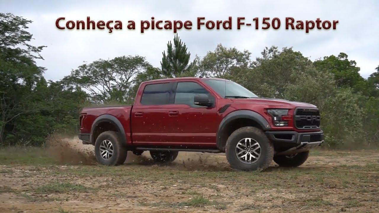 Conheça a picape americana Ford F-150 Raptor