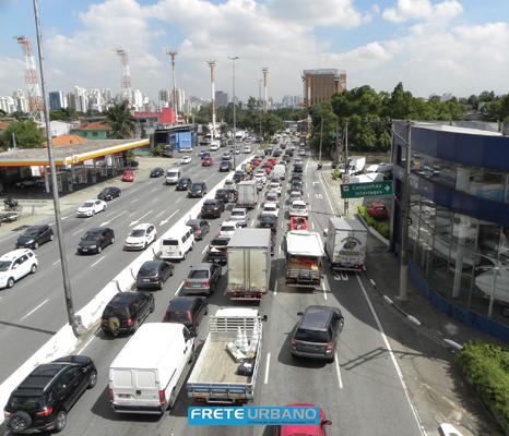 VUCs são liberados de rodízio em São Paulo