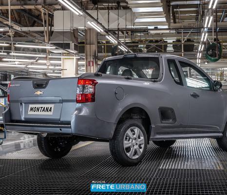 Chevrolet comemora a marca de 750 mil picapes produzidas