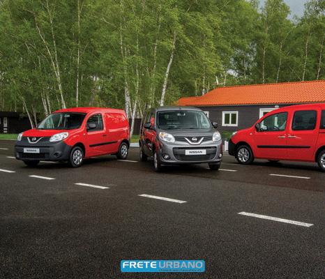 Nissan NV250: pequena van para transportadores europeus