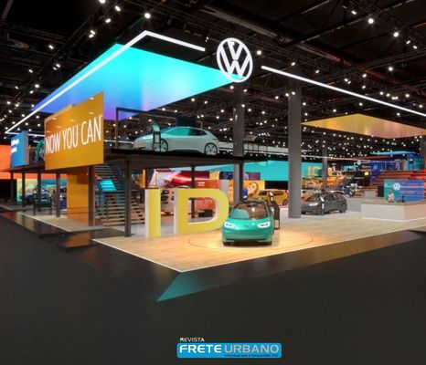 Volkswagen apresenta novo design da marca e novo logotipo