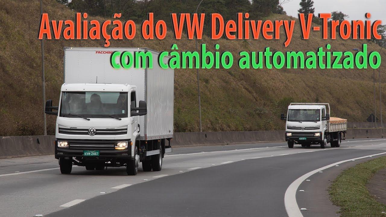 Avaliação do Volkswagen Delivery V-Tronic com câmbio automatizado