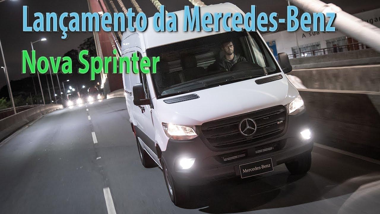Lançamento Mercedes Benz Nova Sprinter