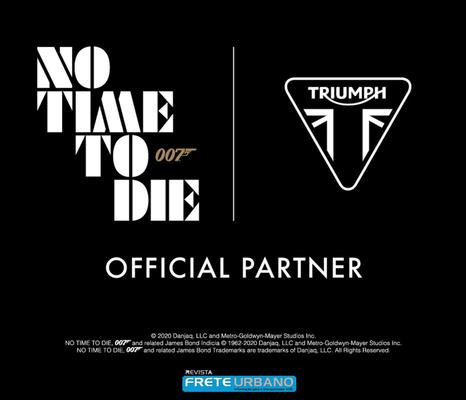 Triumph Motorcycles anuncia parceria com filme de James Bond