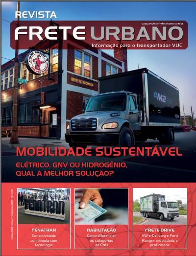 Revista Frete Urbano – perspectivas de um novo ano