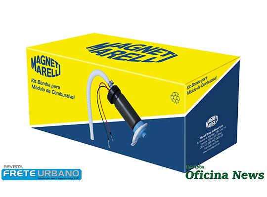 Marelli Cofap mostra nova embalagem para bombas de combustível