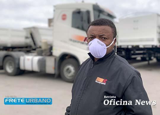 Grupo Randon faz doação de 10 mil máscaras para caminhoneiros
