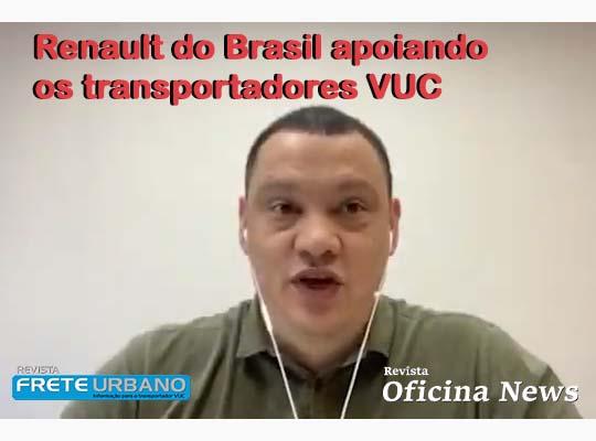 Renault do Brasil apoiando os transportadores VUC