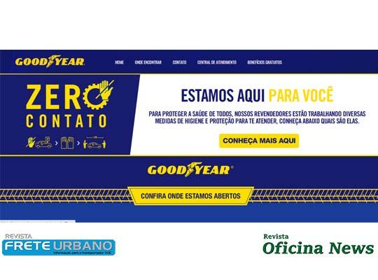 Goodyear oferece reparação gratuita de pneus furados