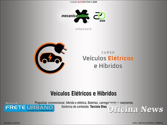 Mecânica Online estreia curso sobre veículos elétricos e híbridos