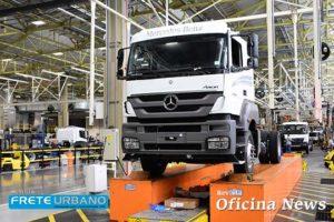 Mercedes-Benz Axor sucede Actron 1635 que encerra produção
