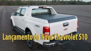 Vídeo da Chevrolet lança Nova S10 remodelada