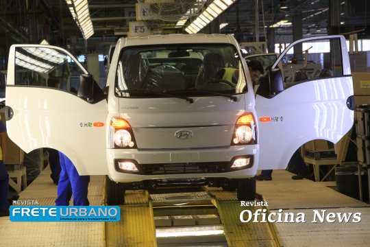 Camionetas Hyundai HR chegam à marca de 90 mil produzidas