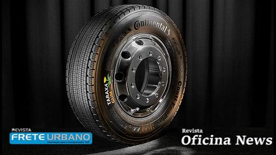 Continental investe em pneus sustentáveis para veículos