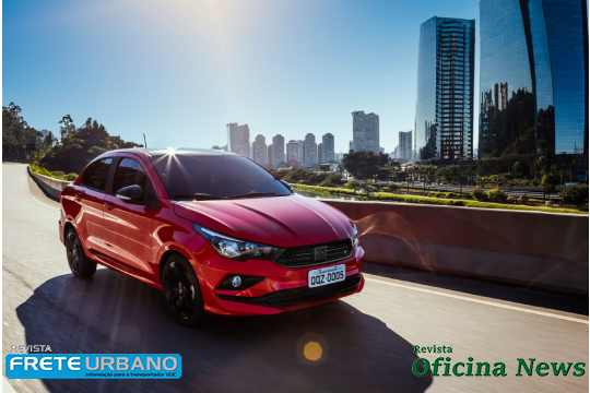 Fiat Cronos 2021 é apresentado com nova identidade da marca