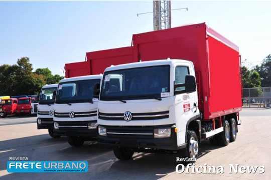 Caminhões urbanos da Volkswagen são destaques na distribuição