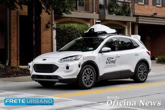 Veículos autônomos projetados pela Ford chegam à quarta geração