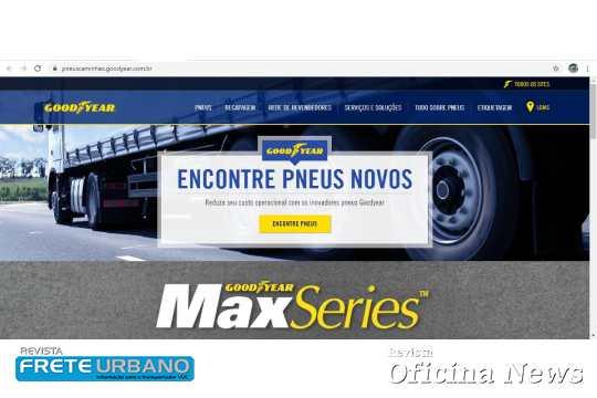 Goodyear lança website exclusivo para pneus de cargas