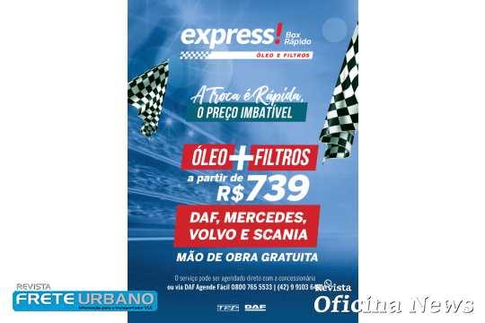 TRP Multimarcas lança promoção para troca de óleo e filtros