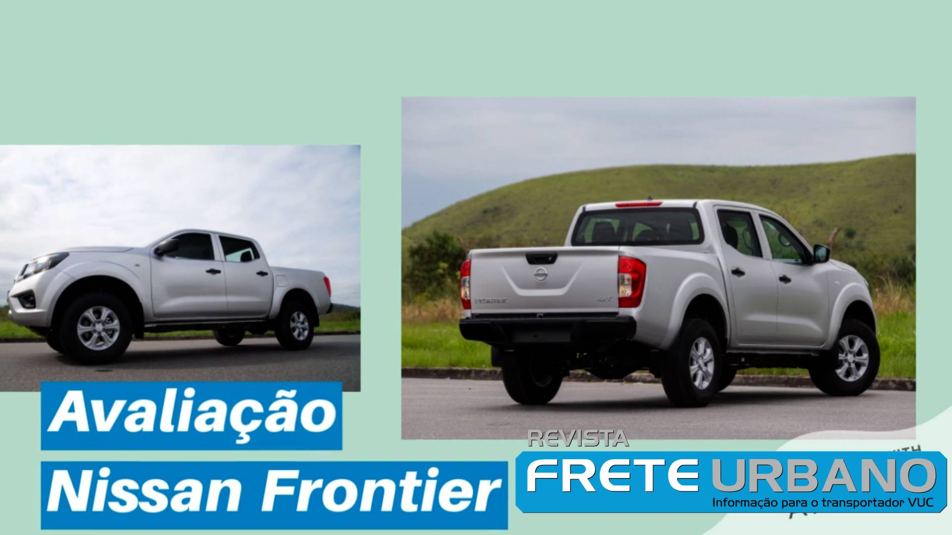 Vídeo traz avaliação da picape robusta Nissan Frontier S