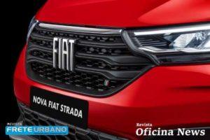 Nova Fiat Strada Volcano topo de linha para o transporte exigente