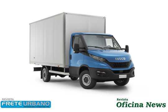 Iveco Daily expande a gama com versão City 30-130 chassi-cabine