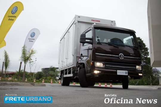 Caminhões Volkswagen Delivery desembarcam em El Salvador