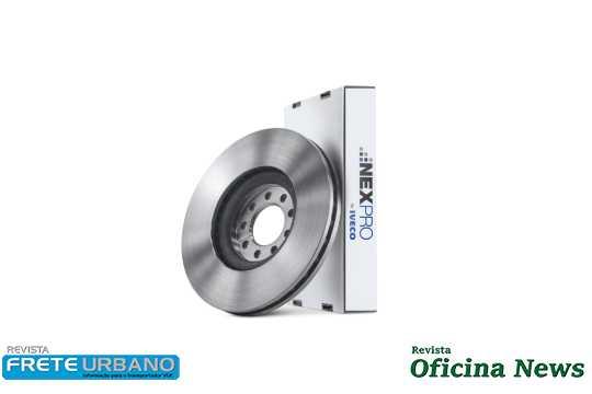 Iveco coloca no mercado discos de freio Nexpro para Daily