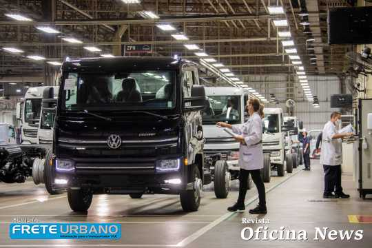 Caminhão VW Delivery Express chega no Uruguai depois de testes