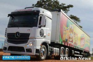 Mercedes-Benz comercializa mais de mil caminhões Novo Actros