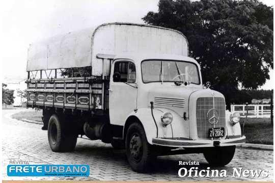 Caminhões e ônibus Mercedes-Benz completam 65 anos de produção