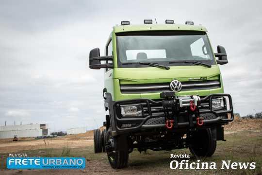 VW Delivery com tração 4×4 pronta para todos os terrenos