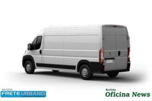 Peugeot Boxer Cargo com PBT de 3,5 T pode ser dirigido com CNH B