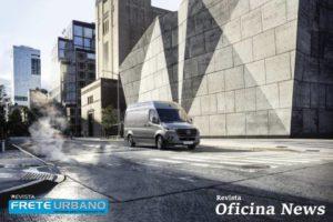 Ciclo urbano traz Mercedes-Benz Sprinter: tecnologia em prol do transporte.