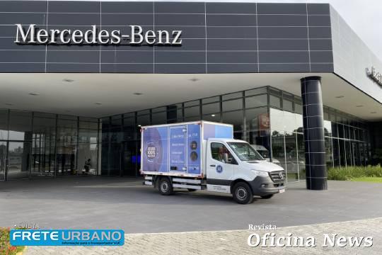 Mercedes-Benz Sprinter: tecnologia em prol do transporte