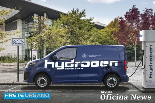 Citroën ë-Jumpy Hydrogen oferece 400 km de autonomia