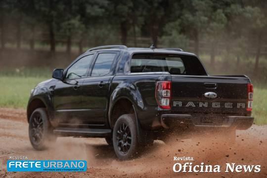 Ford Ranger Black oferece mais conectividade ao transportador