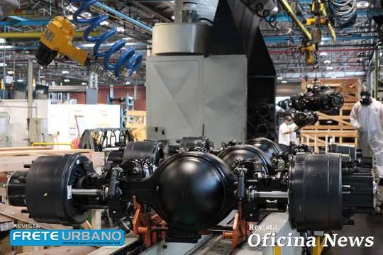 Meritor Brasil celebra 65 anos com presença em 60% de caminhões