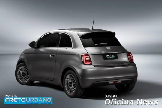 Fiat 500e 100 % elétrico chega ao Brasil como ícone da marca