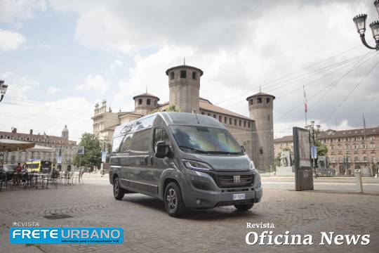 Fiat Professional na Europa revela nova linha da Ducato