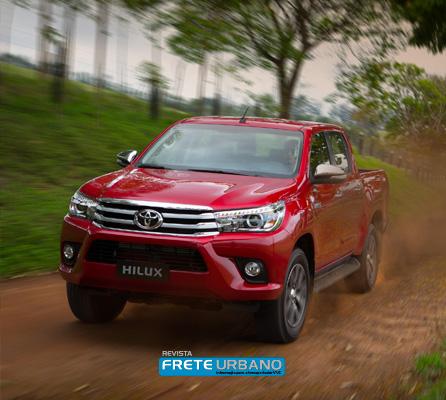 Toyota Nova Hilux para frotas corporativas